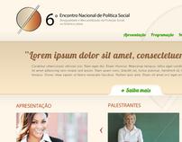 ENPS - Encontro Nacional de Política Social