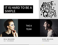Rockefeller - Creative Agency Email PSD