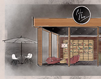 Cuba Libre - Bar de tabaco y Ron (Concept Design)