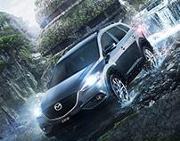 Mazda CX9 / Patagonian Jungle
