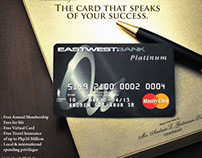 EastWest Bank Platinum Ad