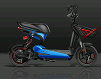 electric scooter design