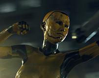 Cyborg Fight (Keyframing)