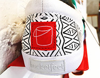 Collaboration for Bucketfeet 2015 Spring Line
