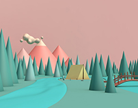 Buds - Character design c4d