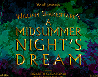 A Midsummer Night's Dream Poster Campaign