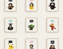 Mindundia: Amigurumi Prints