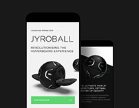 Jyroball Launch Branding & Website
