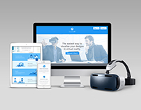 Insite VR Website and Illustrations