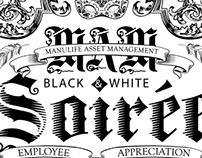 Black & White Soirée | Invitation