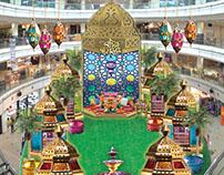 Hari Raya Mall Decoration Concept