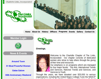 Charlotte Links, Inc. Website