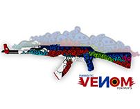 AK-47 | Parasitic VENOM CS:GO Weapon Skin
