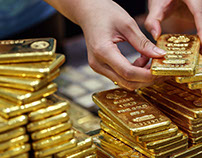 While the Dollar Strengthens, Gold Falls