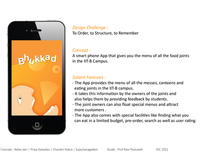 iPhone application : Bhukkad