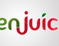 Eden Juice Logo Identity (Student Work)