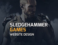 Sledgehammer Games Website Design