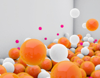 [test] 2011 C4D_ Balls ups and down