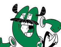 Boston Celtics themed design