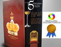 Packaging Gran Corralejo Anejo Tequila Premium