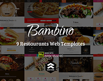 Bambino - All food & Restaurants Muse Templates