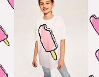 Pixel ice creams Reserved Kids