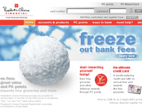 President's Choice Financial: Marketing + Banking Site