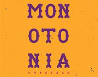 MONOTONIA Free Typeface
