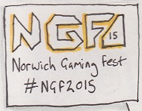 Norwich Gaming Festival Sketchnotes