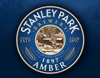 Stanley Park Brewery Branded QR Code