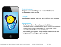 """Time's up""  Alarm app for iPhone or iPad"