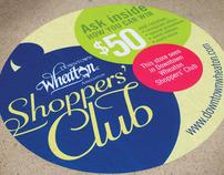 Downtown Wheaton Shoppers' Club Sidewalk Decals