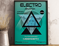 Electro poster