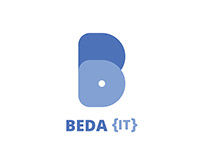 Beda {IT} Logo Design