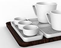 TEA SET for G.BENEDIKT
