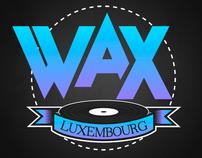 Logo & Web - Wax Luxembourg