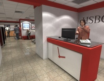HSBC Bank Yerevan Rep. Sq. branch Renovation Project