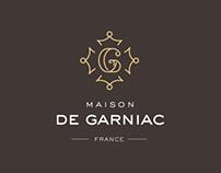 Maison de Garniac : Branding + e-store