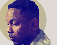Rapper Polygon Portraits