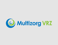 Multizorg VRZ - Medical Insurances Logo Identity Design