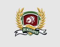 Mobiele Bier Proeverij De Kuijper Lisse Logo Design