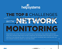 INFOGRAPHIC: The Top 8 Challenges with Network Monitori