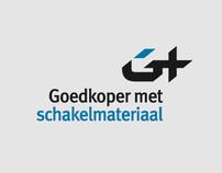 Goedkoper met Schakelmateriaal Webshop Logo Design