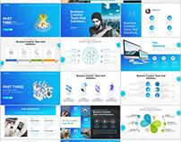33+ business website ui design PowerPoint template