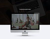 Thinking Machine - Web Design