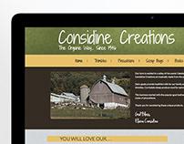 Considine Creations Website