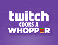 BURGER KING - Twitch Cooks a Whopper