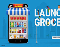 Launching Groceries
