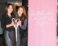 Sweet and Lashful Branding