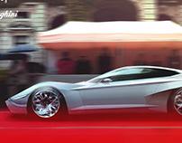 Lamborghini Lama. (350GT Hommage Concept)